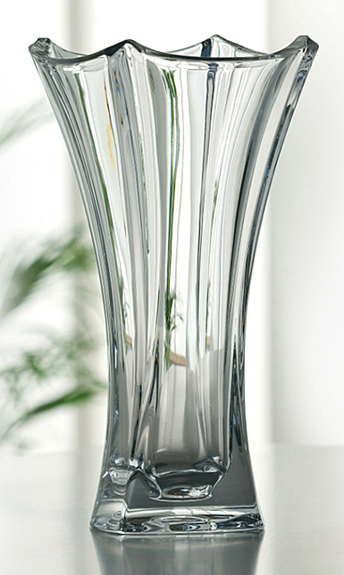 "Galway Dune 14"" Flared Vase"