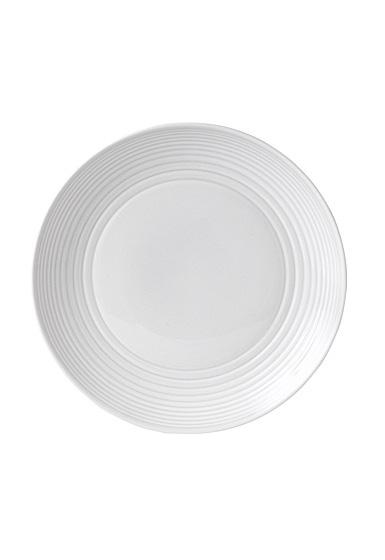 "Royal Doulton Gordon Ramsay Maze White Dinner Plate 11"""