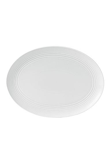 "Royal Doulton Gordon Ramsay Maze White Oval Platter 17"""