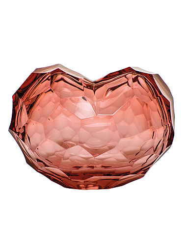 Moser Heart Sculpture Rosalin