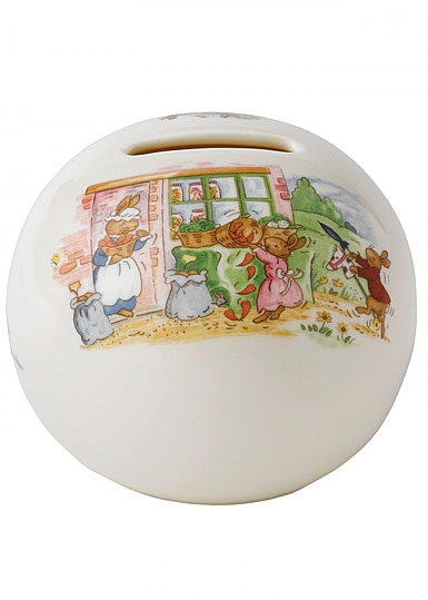 Royal Doulton China Bunnykins Bank Money Ball