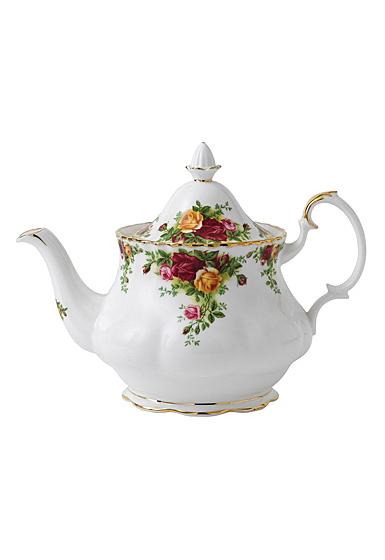 Royal Albert Old Country Roses Teapot Large 42 Oz
