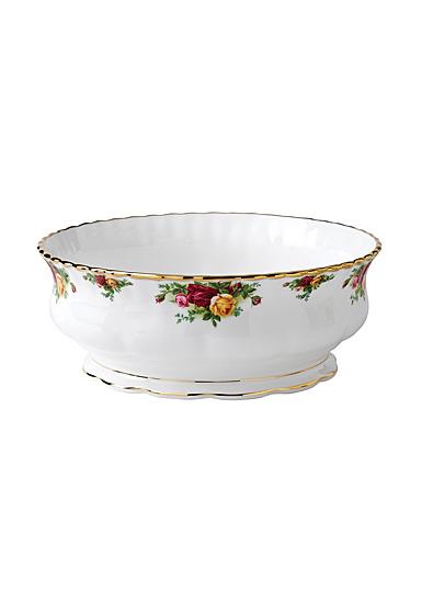 Royal Albert Old Country Roses Salad Bowl 131 Oz