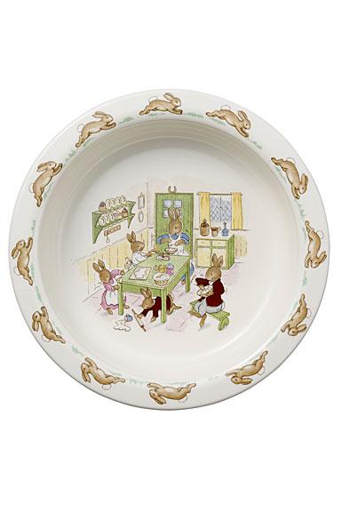 Royal Doulton Bunnykins Nurseryware Classic Baby Plate, Single