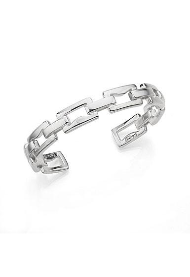 Nambe Men's Jewelry Signature Link Cuff Bracelet