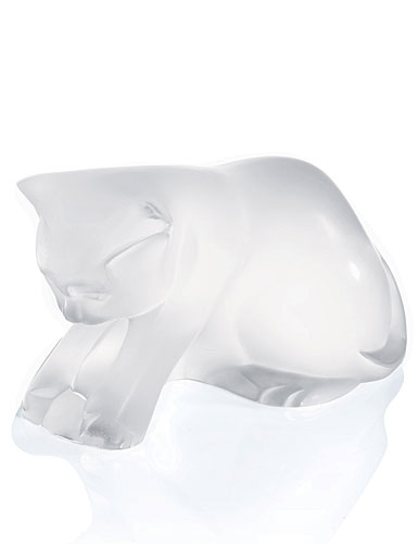 Lalique Kitten with Ball