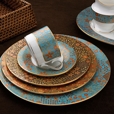 L by Lenox Gilded Tapestry Dinnerware & L by Lenox Gilded Tapestry Dinnerware - Shannon