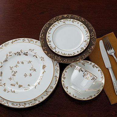 & L by Lenox Golden Bough Dinnerware