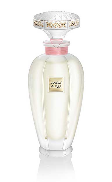Lalique Perfume L'Amour Crystal Flacon Extract