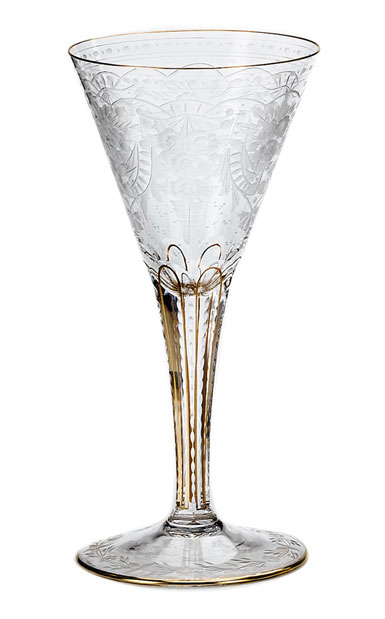 Moser Crystal Maharani Red Wine Glass, Single