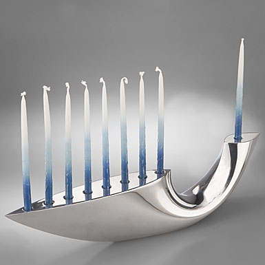 Nambe Metal Illume Menorah