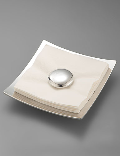 Nambe Pebble Napkin Holder