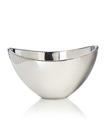 Nambe Metal Braid Serving 1.5 Qt Bowl