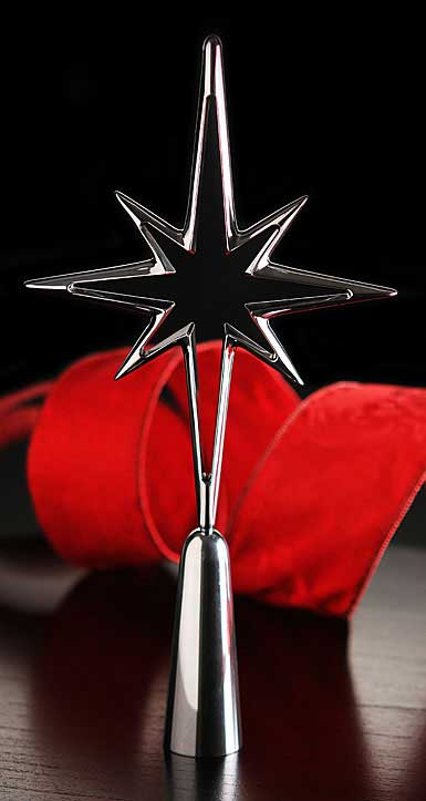 Nambe Metal Deck the Halls Star Tree Topper