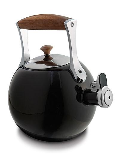 Nambe Metal Gourmet Meridian Tea Kettle, Black