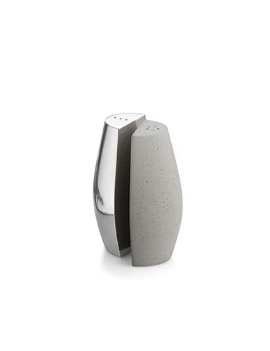 Nambe Metal Forte Salt and Pepper Shakers