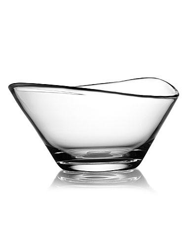 """Nambe Moderne 9"""" Crystal Bowl"""