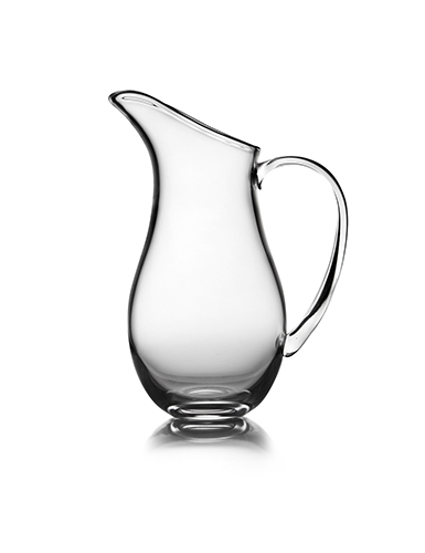 "Nambe Moderne 9"" Crystal Pitcher"