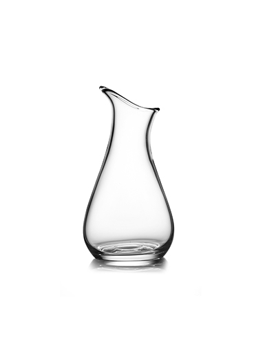Nambe Moderne Medium Art Crystal Vase, Clear