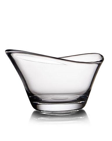 """Nambe Moderne 8"""" Crystal Bowl"""