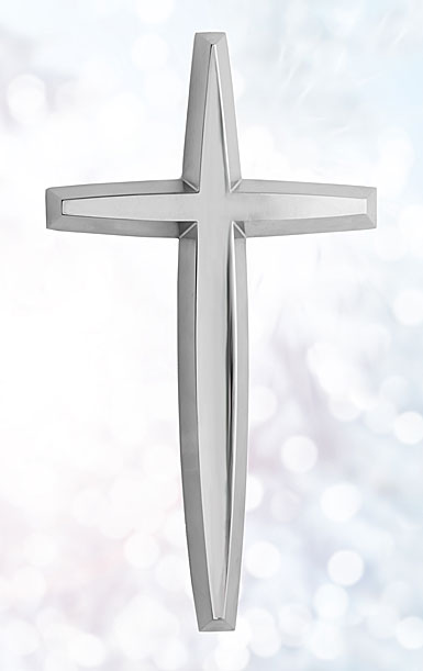 Nambe Metal Wall Cross