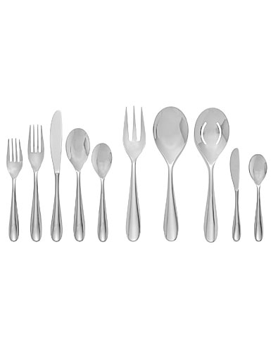 Nambe Paige 45 Piece Flatware Set