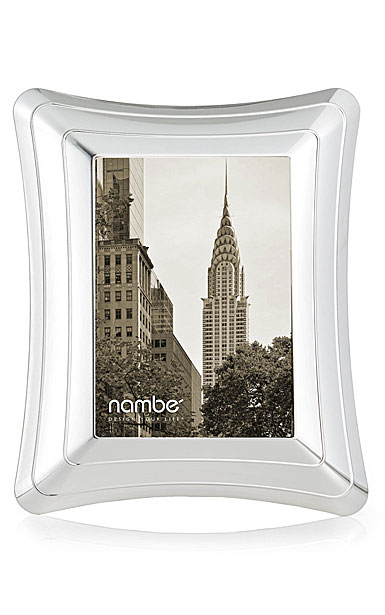 """Nambe Portal 5"""" x 7"""" Picture Frame"""