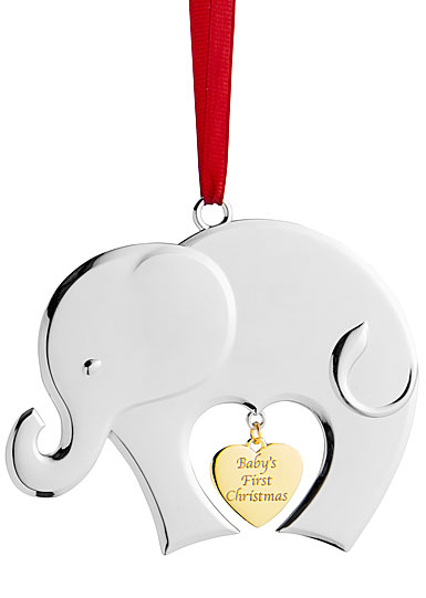 Nambe 2018 Baby's First Christmas Ornament