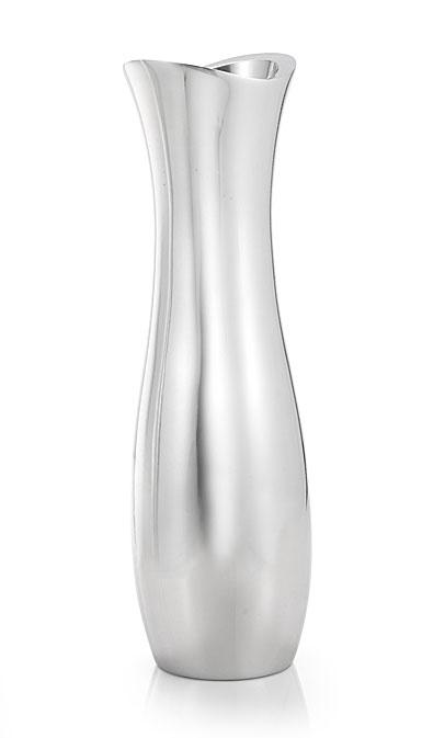 """Nambe Metal Stryker 13"""" Vase"""
