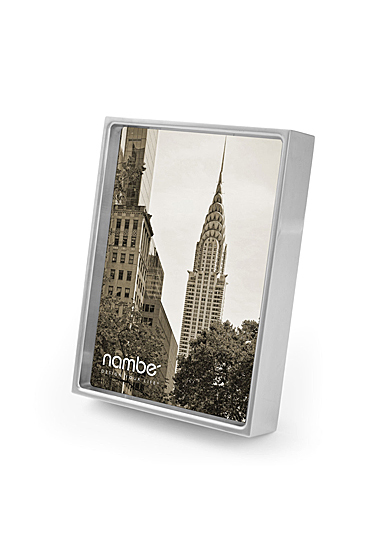"""Nambe Treso 5x7"""" Picture Frame"""