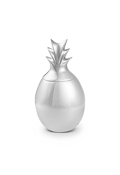 Nambe Pineapple Canister with Lid