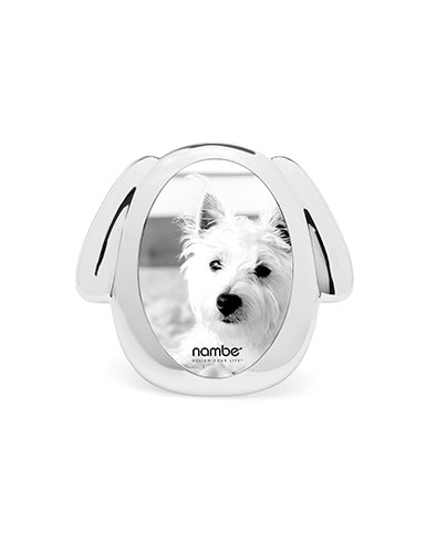 Nambe Pet Collection Dog Frame