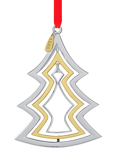 Nambe Metal Annual 2021 Christmas Ornament