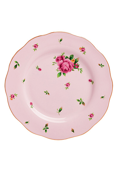 "Royal Albert New Country Roses Pink Salad Plate 8.3"""