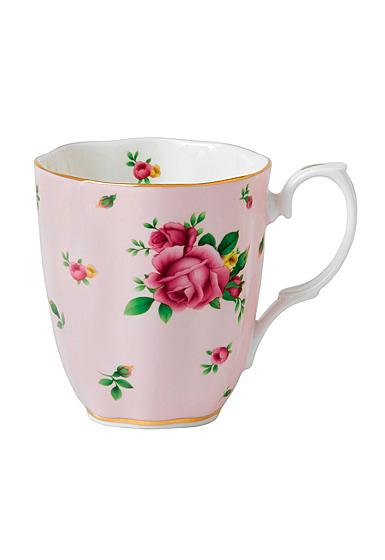 Royal Albert New Country Roses Pink Vintage Mug, Single