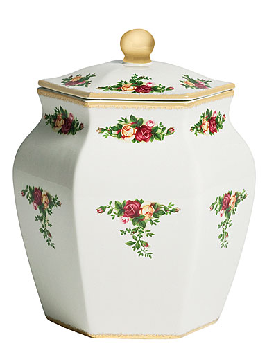 Royal Albert Old Country Roses Biscuit Jar