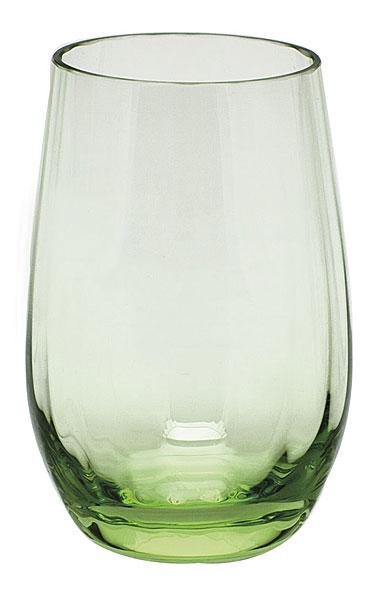 Moser Crystal Optic Vodka 2.7 Oz. Ocean Green