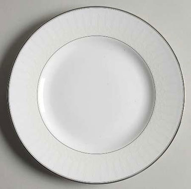 "Waterford China Lismore 8"" Salad/Dessert Plate, Single"