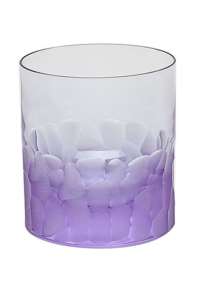 Moser Crystal Pebbles DOF Tumbler, Alexandrite Purple, Single