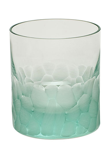 Moser Crystal Pebbles DOF Tumbler, Beryl Green, Single