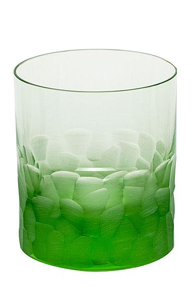 Moser Crystal Pebbles DOF Tumbler, Ocean Green, Single