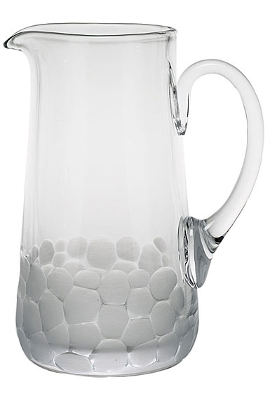 Moser Crystal Pebbles Pitcher, Clear