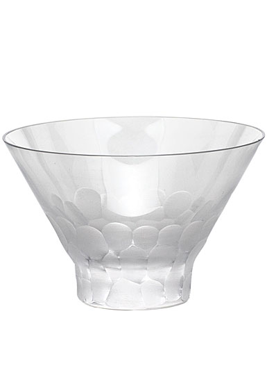 Moser Crystal Pebbles Small Bowl, Clear