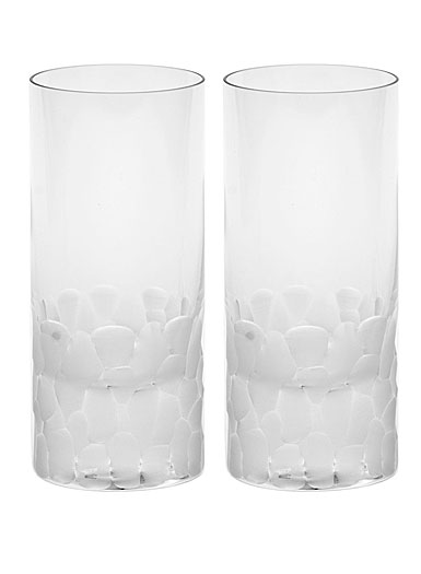 Moser Crystal Pebbles Hiball Glasses Pair, Clear