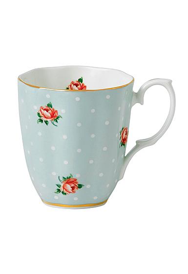 Royal Albert Polka Rose Vintage Mug