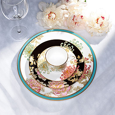 Marchesa by Lenox Painted Camellia Collection & Marchesa by Lenox Painted Camellia Dinnerware