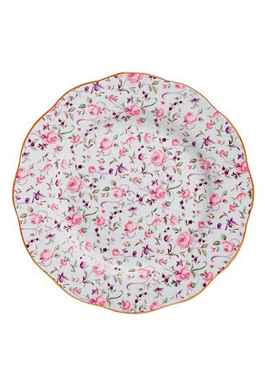 Royal Albert Rose Confetti Salad Plate, Single