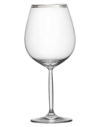 Schott Zwiesel Diva Living All Purpose Wine Glass, Platinum Band, Single