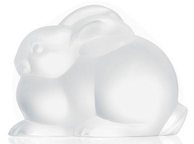 Lalique Resting Rabbit