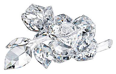 Lalique Crystal, Roses Crystal Bowl
